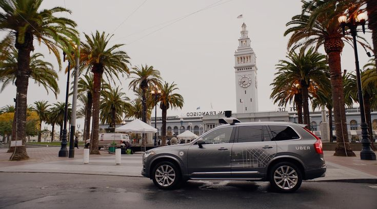 Self-Driving Uber: San Francisco  Now you can get a self-driving Uber in SF