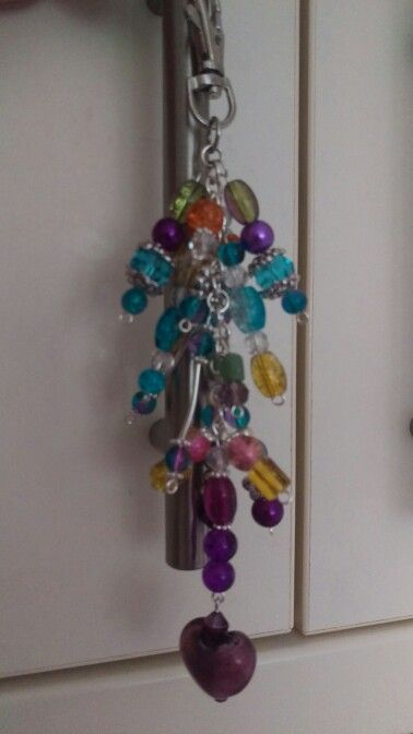Bag dangle/bag charm homemade