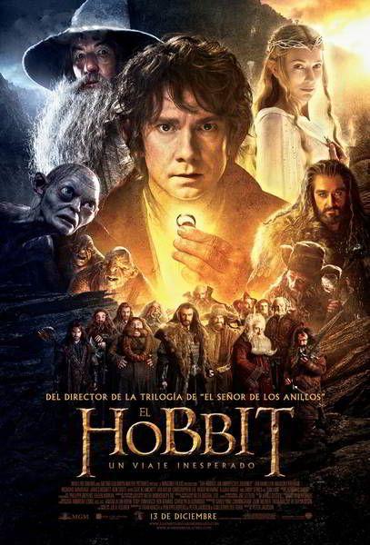 ver El Hobbit Un Viaje Inesperado 2012 online descargar HD gratis español latino subtitulada