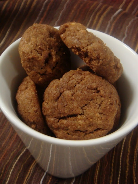 Peanut Butter & Chocolate + Quinoa Cookies