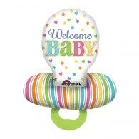 Shape Baby Pacifier / Dummy Welcome Baby $33.95 U30952