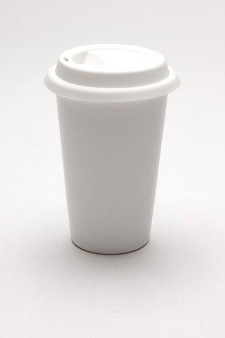 Kikkerland Ceramic Coffee Cup