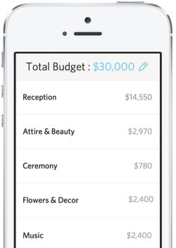 Wedding Budget Calculator -The New Knot. Like Mint for weddings!