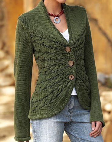 Isabella Bird sweater: pattern is Sunburst Cable Cardigan by Erica Patberg $7 http://www.ravelry.com/patterns/library/sunburst-cable-cardigan