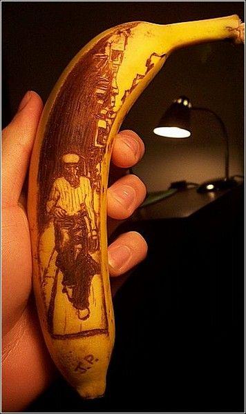 Банановая кожура годится не только для гэгов