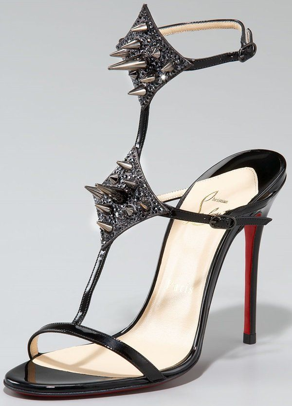 Christian Louboutin Lady Max Spike Sandals