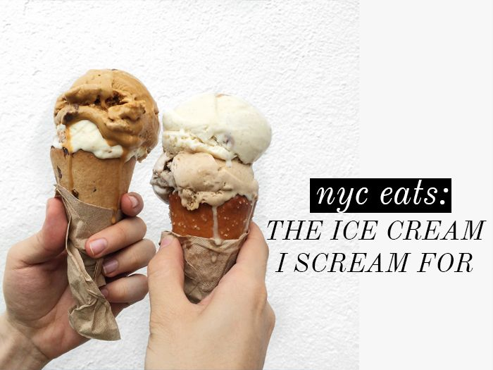 NYC EATS: THE ICE CREAM I SCREAM FOR // the girl in polka dots
