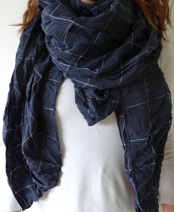 The Midnight Blue by Stylesetterz Handmade Scarves www.facebook.com/stylesetterzhandmadescarves