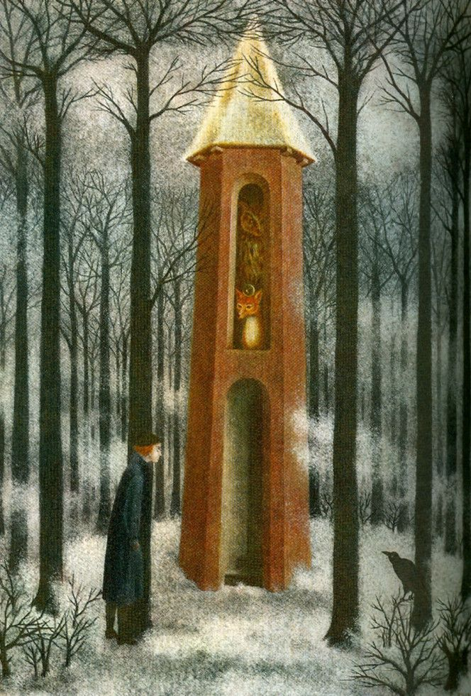 L'Ecole Buissonniere by Remedios Varo 1962
