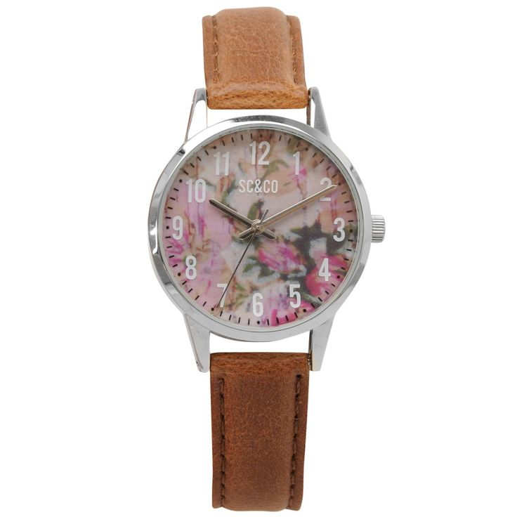 SoulCal | SoulCal Floral Ladies Watch | Jewellery