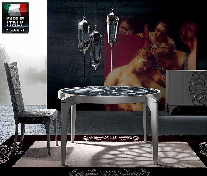 Mesa de Comedor Redonda Gothika - Round Dining Room Table Gothika