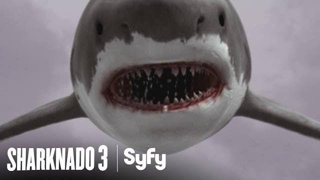 TV Review: Sharknado 3: Oh Hell No! Ian Ziering, Tara Reid, Mark Cuban, Cassie Scerbo, Frankie Muniz, Bo Derek, David Hasselhoff | Syfy | July 22nd, 2015.
