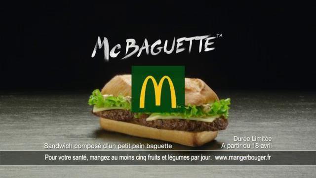 McDonald's McBaguette by TBWA\PARIS