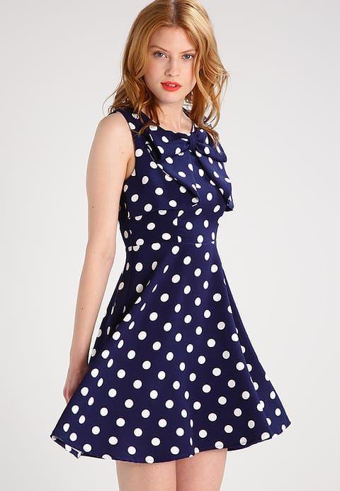 Vêtements Molly Bracken Robe d'été - navy blue bleu foncé: 54,95 € chez Zalando (au 08/04/17). Livraison et retours gratuits et service client gratuit au 0800 915 207.