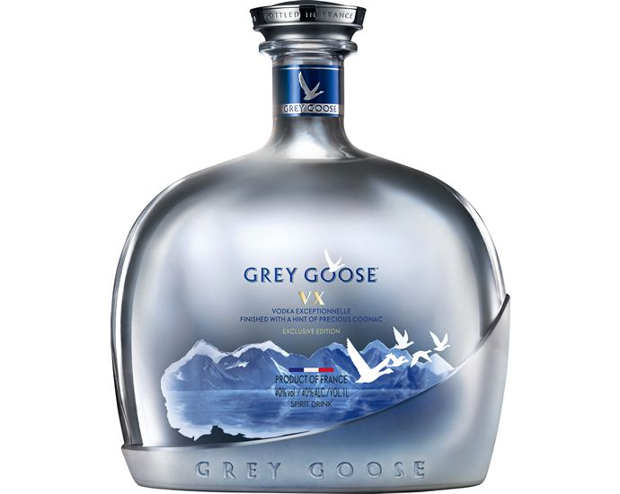 Two birds, one drink! Grey Goose VX combines French vodka with cognac