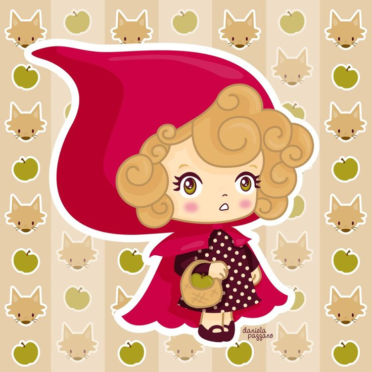 Little Red Riding Hood by daniela pazzano