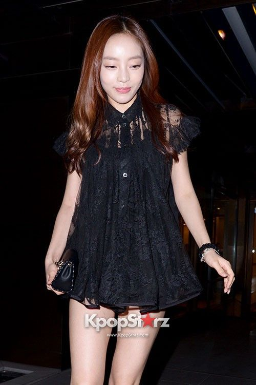 Kara\s Goo Ha Ra Attends BOON THE SHOP \SACAI\ AW 2013 Fashion Show on April 24, 2013