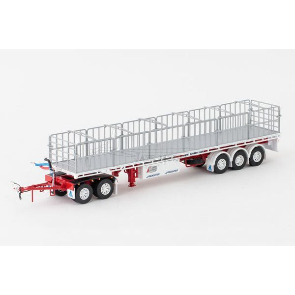 MaxiTRANS Freighter Flat Top Road Train Trailer & Dolly Set - BBG - Drake ZT09143 An addition to the B-Double Trailer Set to create a Road Train