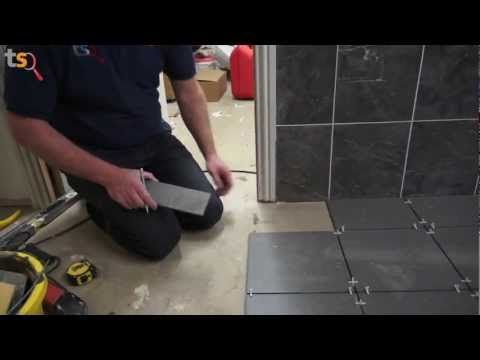 Tommy's Trade Secrets - How To Tile A Floor - YouTube