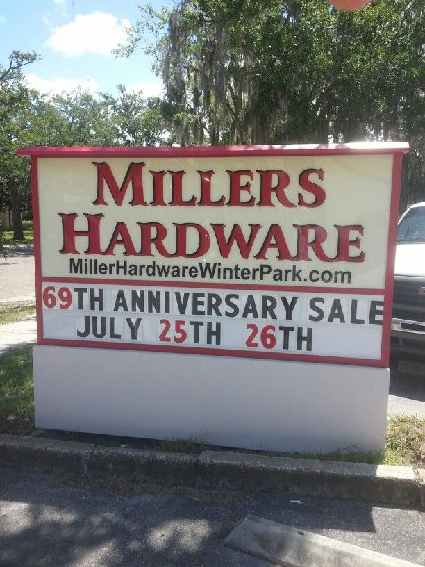 Miller True-Value Hardware in Winter Park, reviews by real people. Yelp is a fun and easy way to find, recommend and talk about what's great and not so great in Winter Park and beyond. Skip to Search Form Skip to Navigation Skip to Page Content Location: W Fairbanks Ave, Winter Park, , FL.