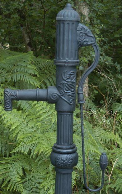 Vintage garden water pump