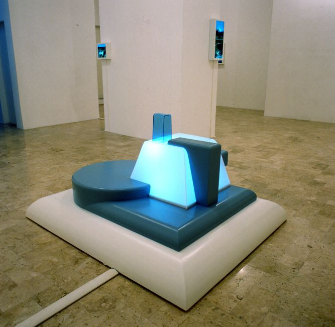 Giorgos Papadatos,  Light unit factories, 2002, Umberto Di Marino,Naples