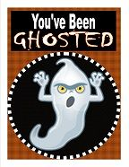 #Halloween game - so much fun.. take the kids and Go Ghosting.. free printable with the poem, the sign and instructions!