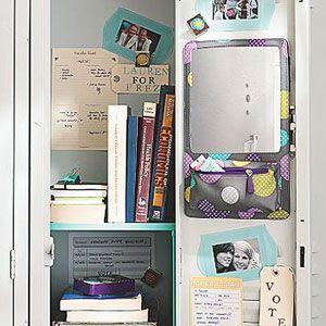 middle school lockers organized | School Locker Ideas - kootation.com