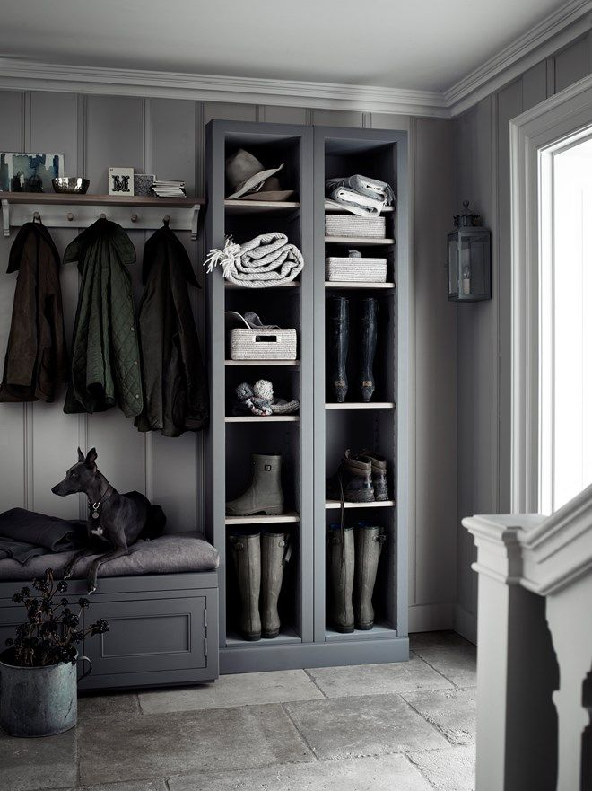 Tongue and groove paneling would be a good hard-wearing option. From Neptune Journal