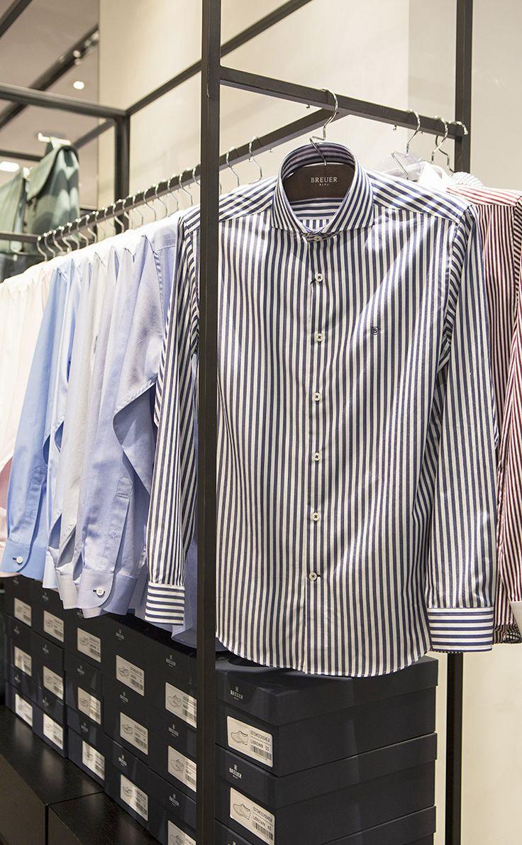 [SHOP@] 브로이어블루 와이드카라 셔츠