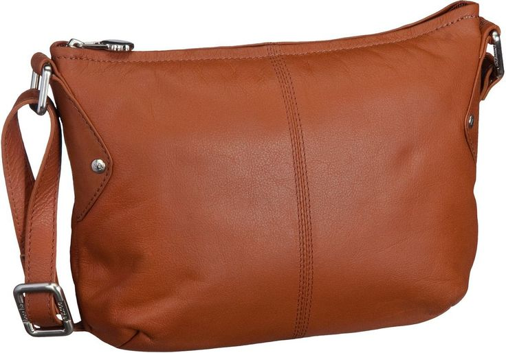 Bodenschatz It Takes Two Crossover Bag Tan - Umhängetasche