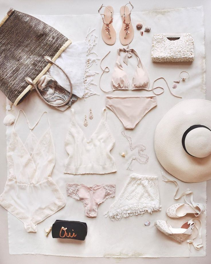 the ultimate honeymoon packing essentials | image via: instagram @BHLDN