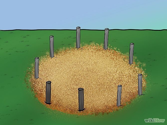 how to build a round pen
