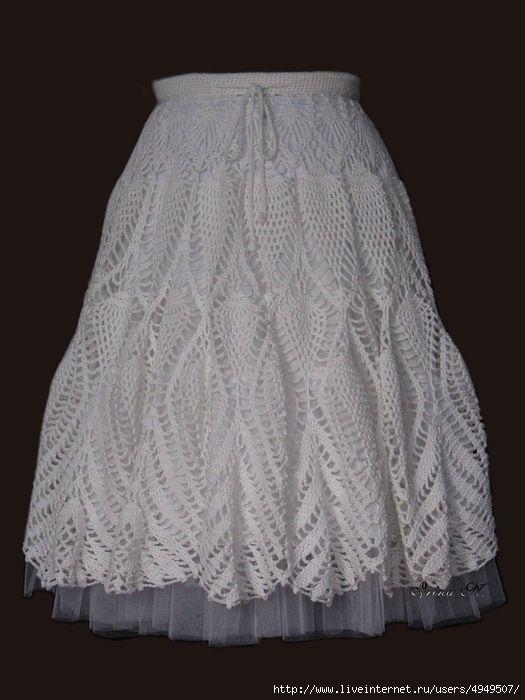 Мобильный LiveInternet Белая длинная юбка | Клара66 - Клара66 |