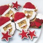 Descubre las recetas para estas mágicas galletas de papá Noel