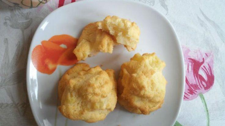 Gluténmentes krumplis pogácsa rizslisztből