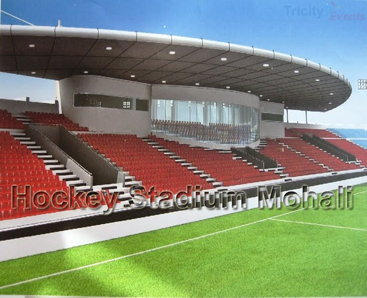 #TricityEventsInChandigarh..Phase 9 of Mohali will have a world-class floodlit hockey stadium. Under construction, the work will be completed by 15 November at a cost of Rs 41 crore. The pink and blue Astroturf would be laid akin to the pattern of the venue of London Olympic..Read more click here..