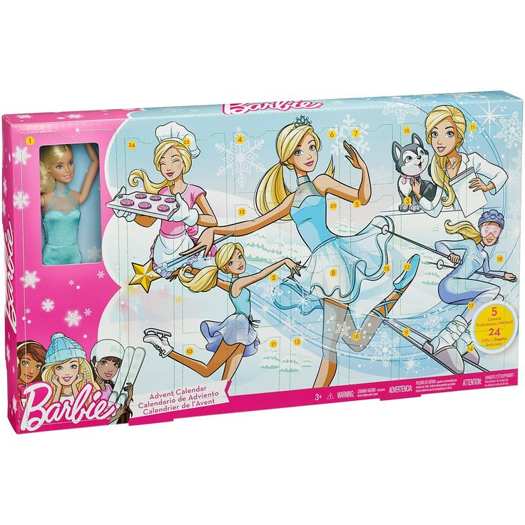 Check out the Barbie Advent Calendar (FGD01) at the official Barbie website. Explore the entire Mattel Vault today!