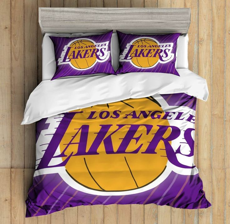 3D Custom Los Angeles Lakers Bedding Set Duvet Cover Set