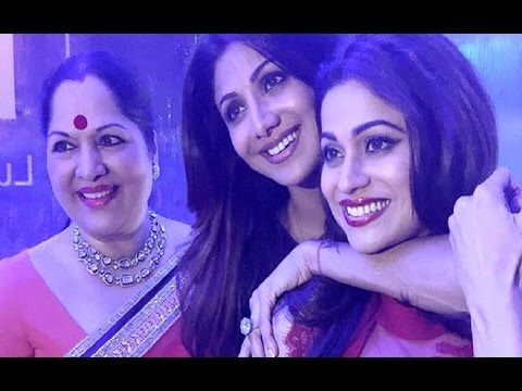 Bollywood celebs at Shilpa Shetty's 41st birthday party.