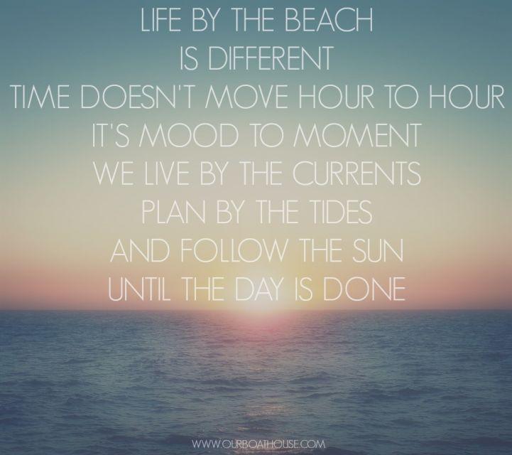 Coastal ocean life quote