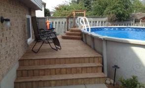 Decks# 109 Fergus, Ontario