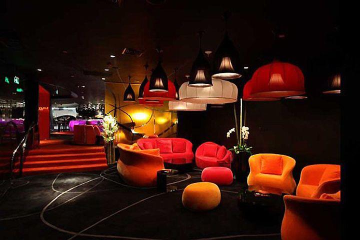Orange Cinema in Beijing by Robert Majkut