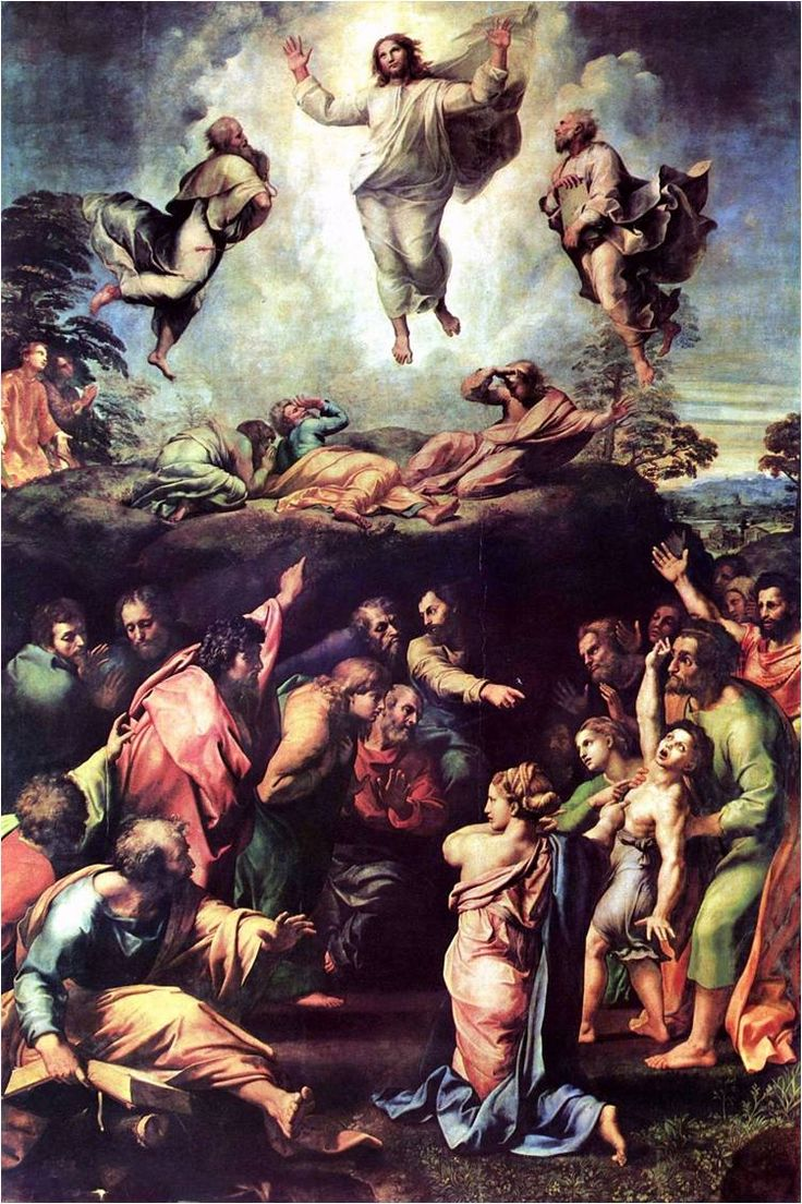그리스도의 변용 - 라파엘로
