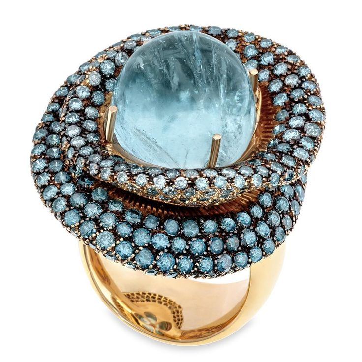 Margot McKinney Aquamarine ring. #carmelbythesea #visitcarmel #carmel #pebblebeach