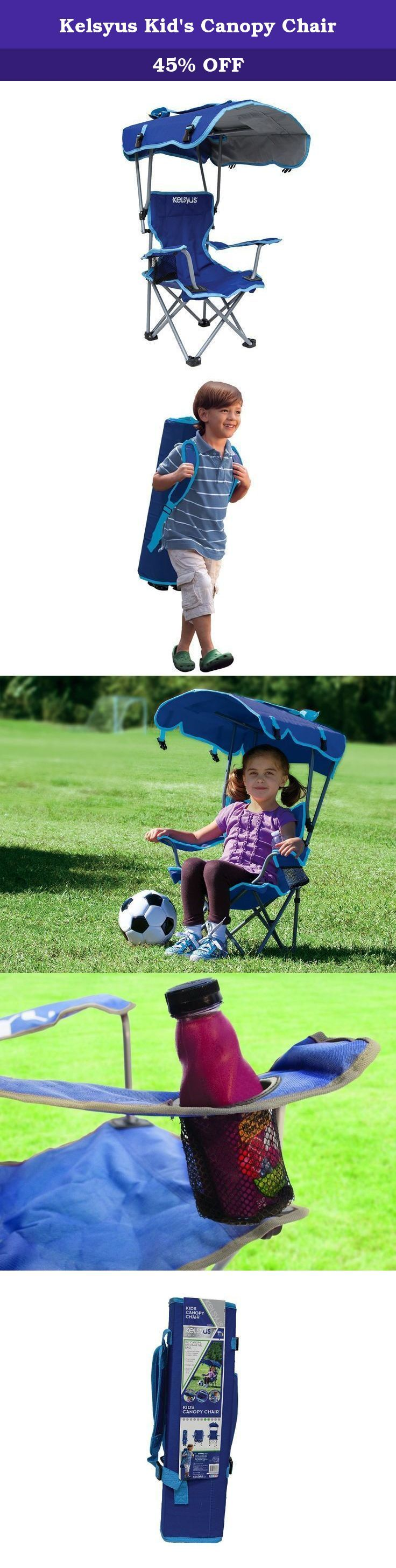 Kelsyus Kidu0027s Canopy Chair. Protect your little one from the elements with the Kelsyus Kidu0027s Canopy Chair. Parents love the adjustable sunshade witu2026  sc 1 st  Pinterest : kelsyus kids canopy chair - memphite.com