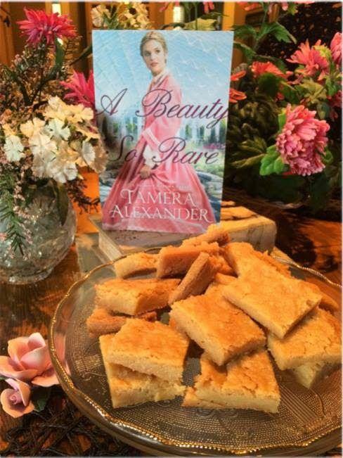 Eleanor Braddock's Shortbread ~ from A Beauty So Rare by @Tamera Alexander