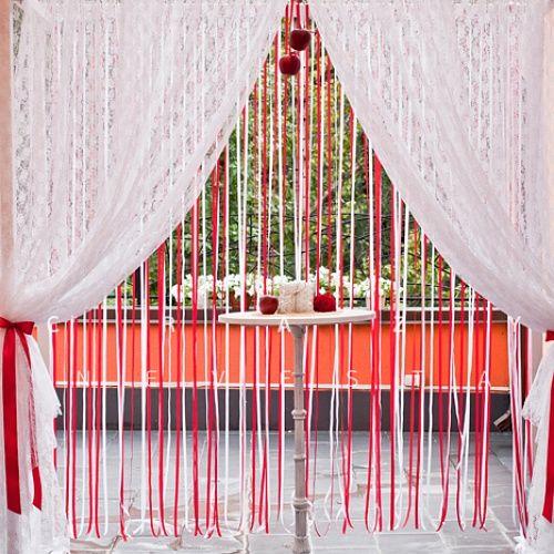"""Оформление свадьбы в стиле """"Кантри в красных тонах""""   Каталог Crazy-невеста"""