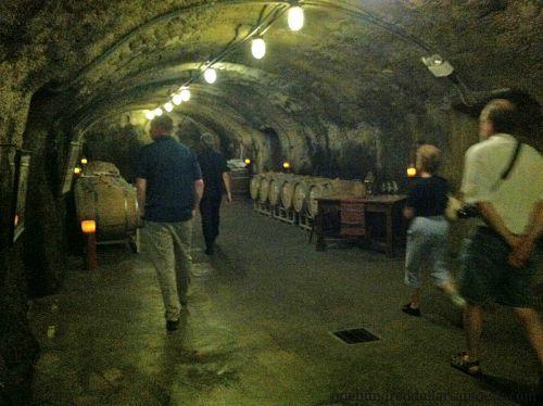 beringer wine cave