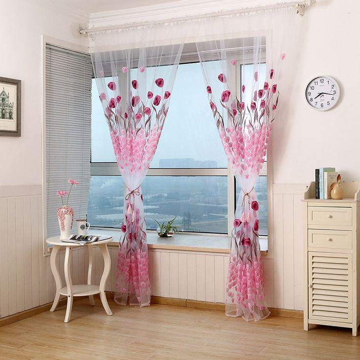 Fashion Stripe Rustic Curtain Yarn Bedroom Living Room: 25+ Best Rustic Curtains Ideas On Pinterest